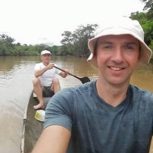 Jochen Reinert in Peru